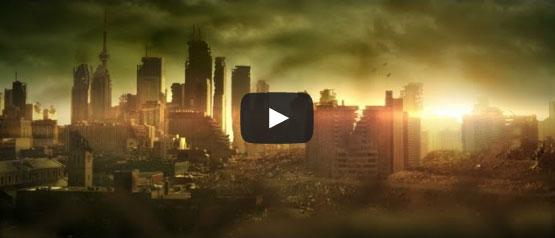 Video educativo de salud en un mundo de zombies