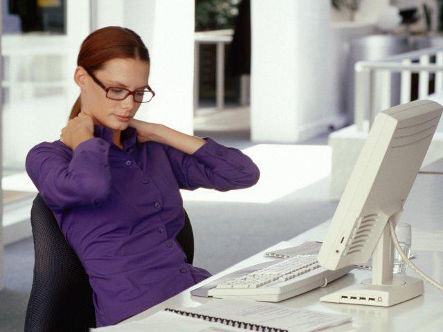 Salud previsional: trabajar en posición sentado