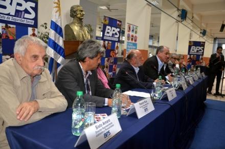 Nuevo presidente del BPS en Uruguay