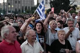 Desesperación en los pensionistas griegos