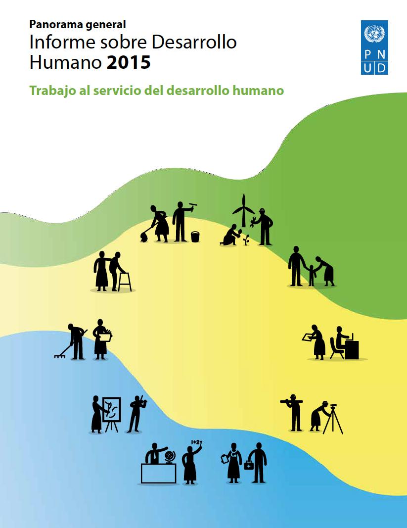 Diferencia entre trabajo y empleo (PNUD Informe 2015)