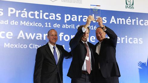 Argentina recibió premio regional de Seguridad Social, de la AISS