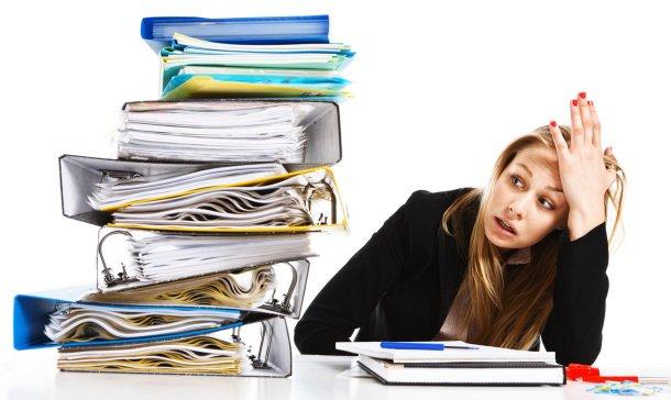 Estrés laboral, problema de hoy
