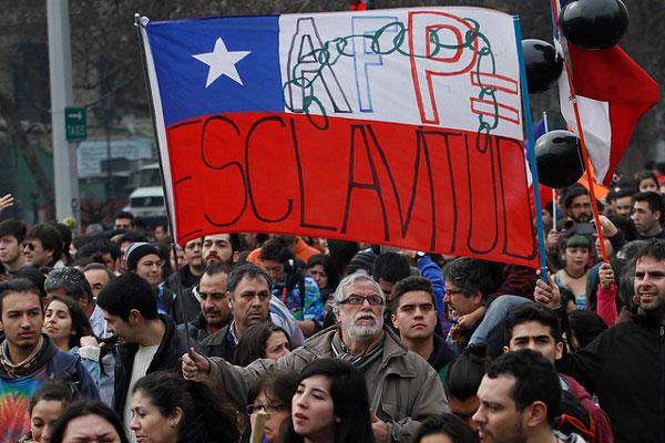 Chile, Vocero de agrupación «No + AFP»: «Es un llamado de atención a las autoridades»