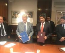 Ecuador e Italia firman documento de cooperación