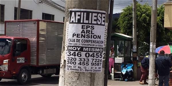 Colombia: empresas estafan con afiliación a la Seguridad Social