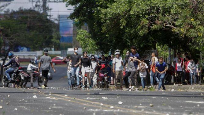 Protestas contra la reforma de las pensiones dejan al menos tres muertos en Nicaragua