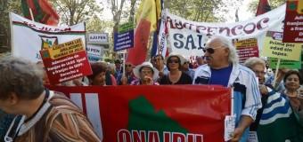 Jubilados de Uruguay reclaman un aumento de pensiones más bajas (Vídeo)