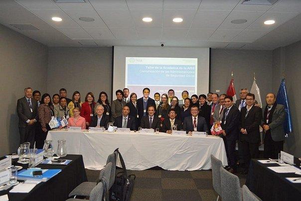 Taller internacional sobre comunicación de las Administraciones de Seguridad Social, en Lima