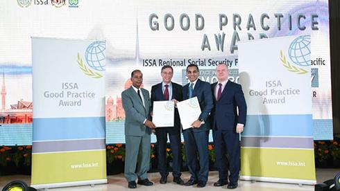 Corea gana el premio regional de buenas prácticas en seguridad social