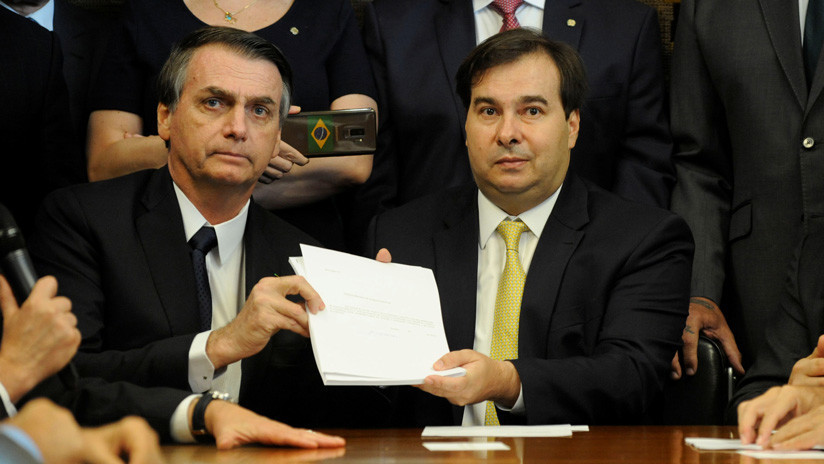 Bolsonaro presenta al Congreso reforma de las pensiones (vídeo)