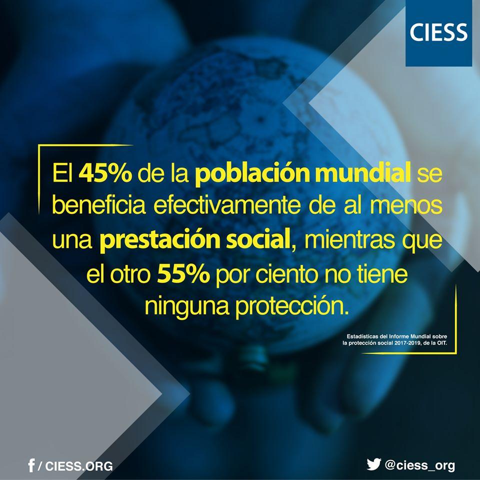 45% recibe una prestación: Conferencia Interamericana de Seguridad Social