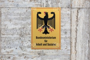 German Federal Ministry of Labour and Social Affairs sign