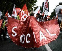 Marchas multitudinarias en Francia reclaman mejoras en los salarios y pensiones